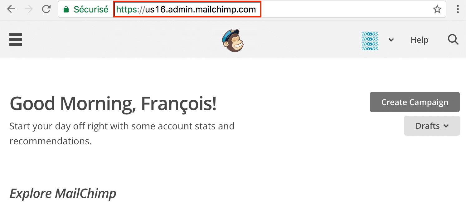 url MailChimp